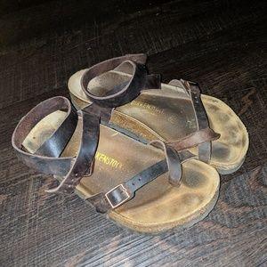 Birkenstock Yara leather sandals size 38